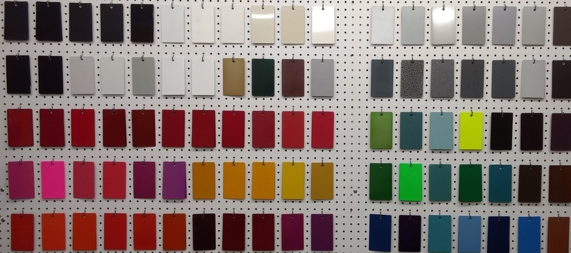 Nano leather powder colors