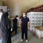 گزارش تصویری صداوسیمای جمهوری اسلامی ایران مرکز سمنان از شرکت فام گستر ماهان
