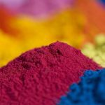 Polyester powder paints